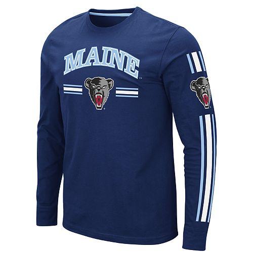 Men's NCAA Maine Black Bears Pikes Peak Long Sleeve Tee