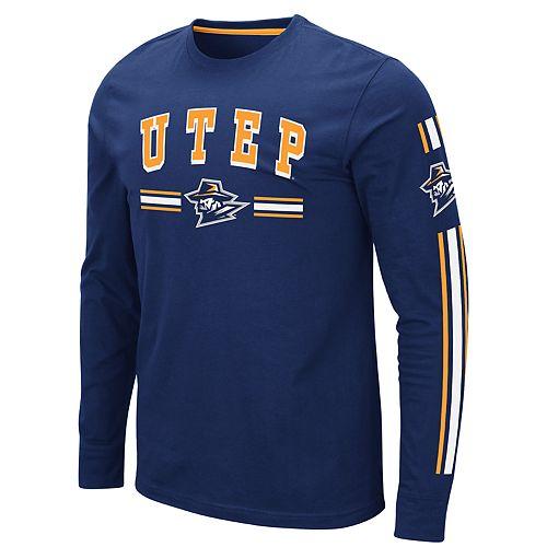 Men's NCAA UTEP Miners Pikes Peak Long Sleeve Tee