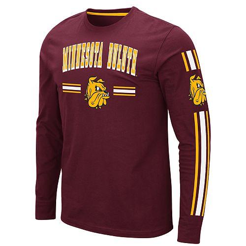 Men's NCAA Minnesota-Duluth Bulldogs Pikes Peak Long Sleeve Tee