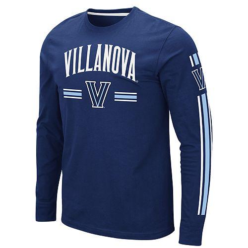Men's NCAA Villanova Wildcats Pikes Peak Long Sleeve Tee