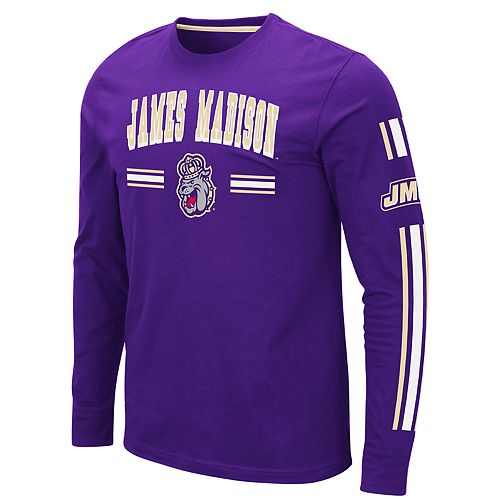 Men's NCAA James Madison Dukes Pikes Peak Long Sleeve Tee
