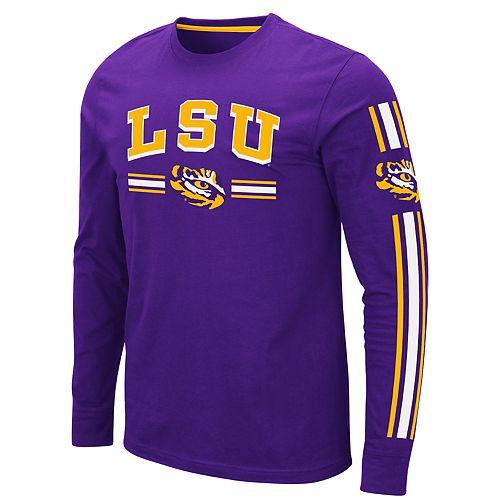 Men's NCAA LSU Tigers Long Sleeve Tee