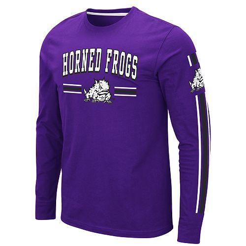 Men's NCAA TCU Horned Frogs Long Sleeve Tee