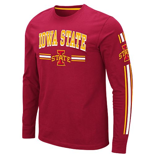 Men's NCAA Pikes Peak Iowa State Long Sleeve Tee