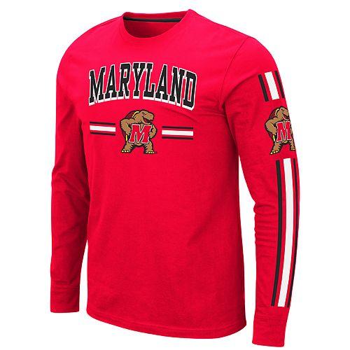 Men's NCAA Pikes Peak Maryland Long Sleeve Tee