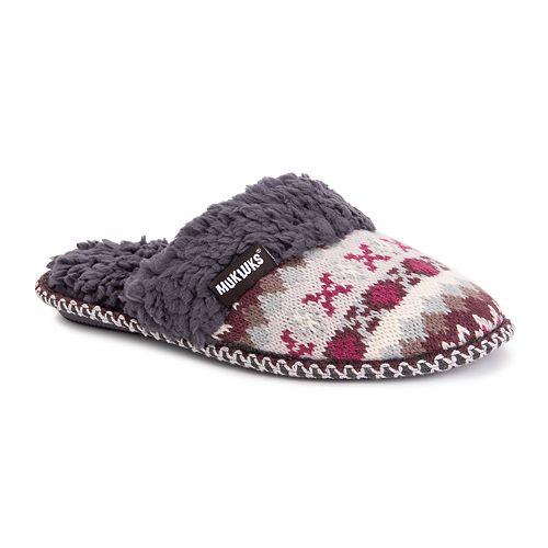 MUK LUKS® Frida Women's Scuff Slippers