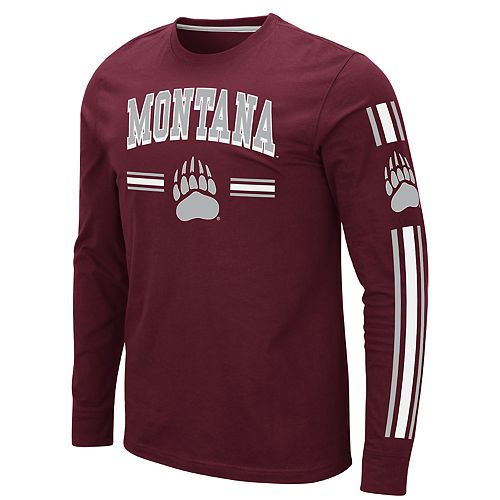 Men's NCAA Montana Grizzlies Pikes Peak Long Sleeve Tee