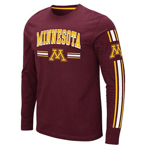 Men's NCAA Minnesota Golden Gophers Pikes Peak Long Sleeve Tee