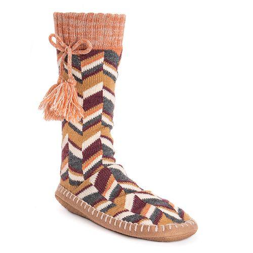 Women's MUK LUKS® Slipper Socks with Tassels