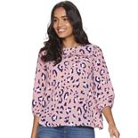 Women's Juicy Couture Peasant Sleeve Blouse