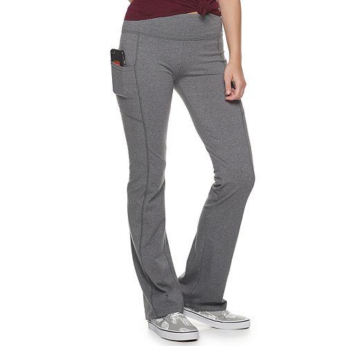 Juniors' SO® Short Skinny Boot Cut Pants
