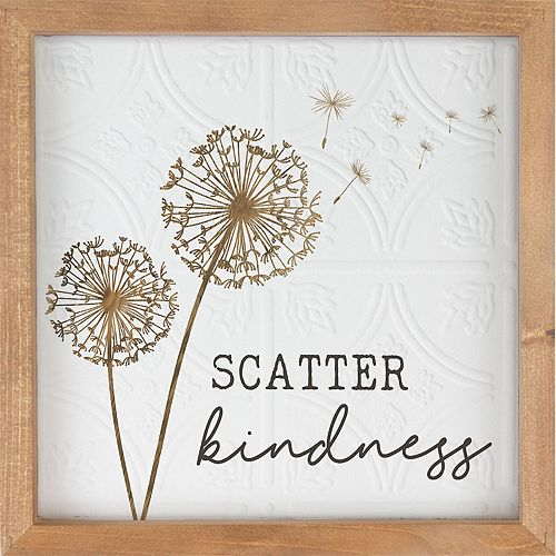 Scatter Kindness Wall Decor