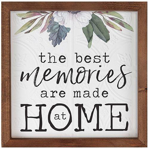 Memories Made At Home Wall Decor