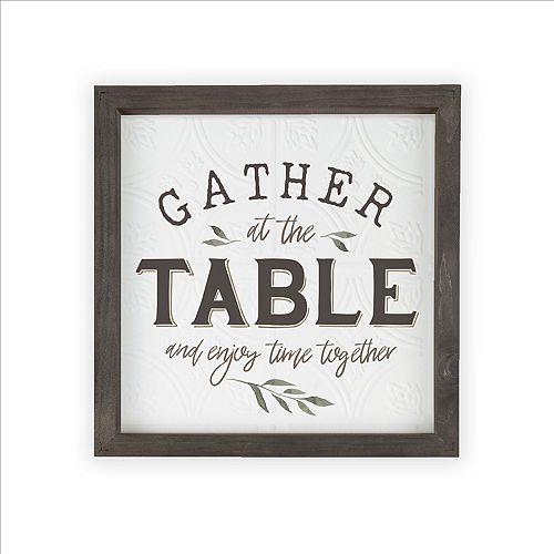 Gather At The Table Wall Decor