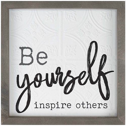 Be Yourself Wall Decor