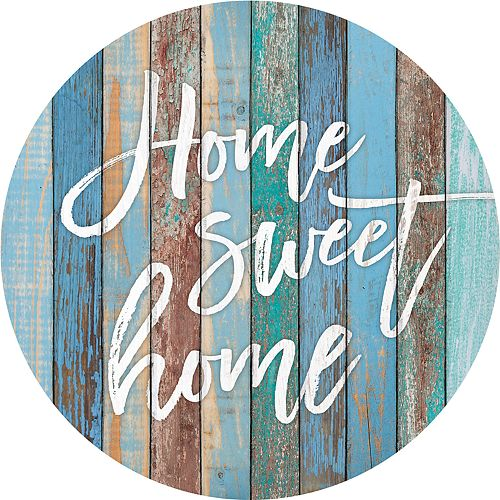 Multicolor Home Sweet Home Wall Decor