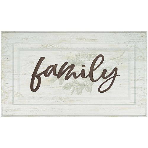 Distressed Family Wall Decor