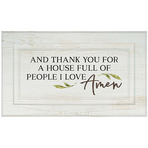 House Full Of People I Love Wall Decor