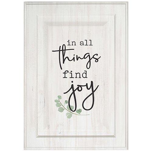Find Joy Wall Decor