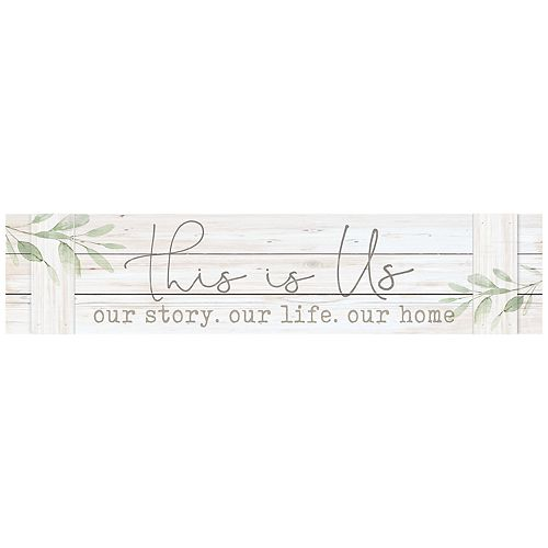 This Is Us Distressed Wall Decor