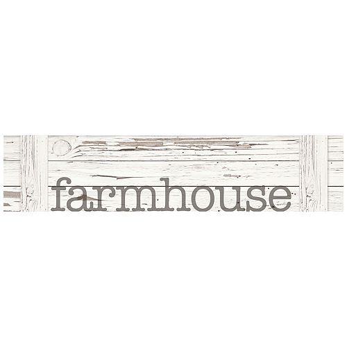 Farmhouse Distressed Wall Decor