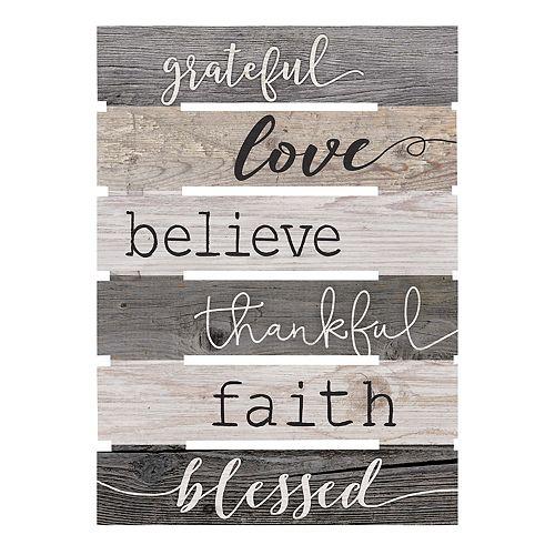 Grateful Love Wall Decor