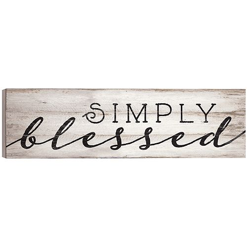 Simply Blessed Wall Decor