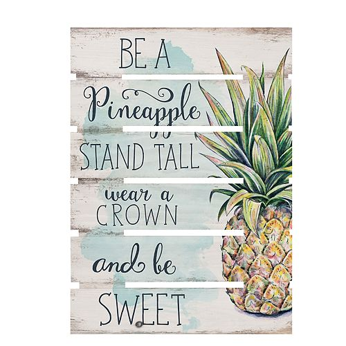 Be A Pineapple Wall Decor