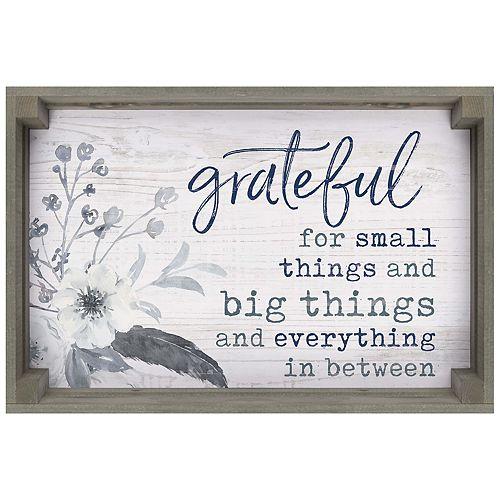 Grateful Wall Decor