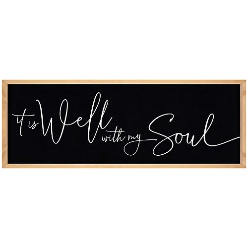 It Is Well With My Soul Wall Decor