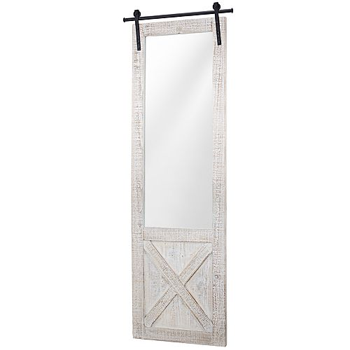 Crystal Art Gallery Barn Door Wall Mirror