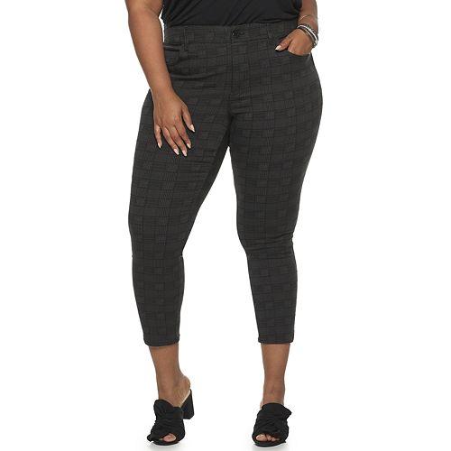 Plus Size EVRI Super Stretch Ankle Pant