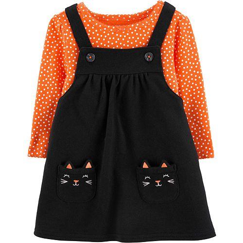 Baby Girl Carter's Halloween Bodysuit & Jumper Set