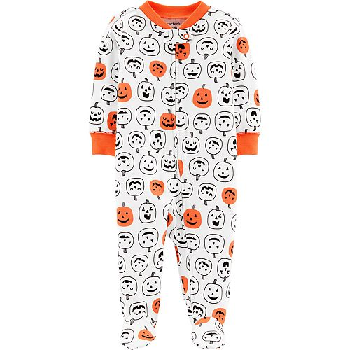 Baby Carter's Halloween Jack-O-Lanterns Zip-Up Sleep & Play