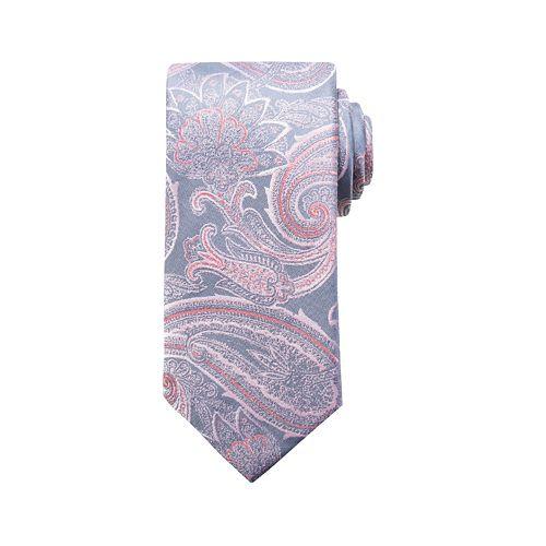 Men's Croft & Barrow® Paisley Tie