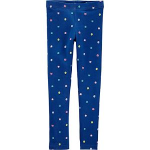 Toddler Girl Carter's Ladybug Print Leggings