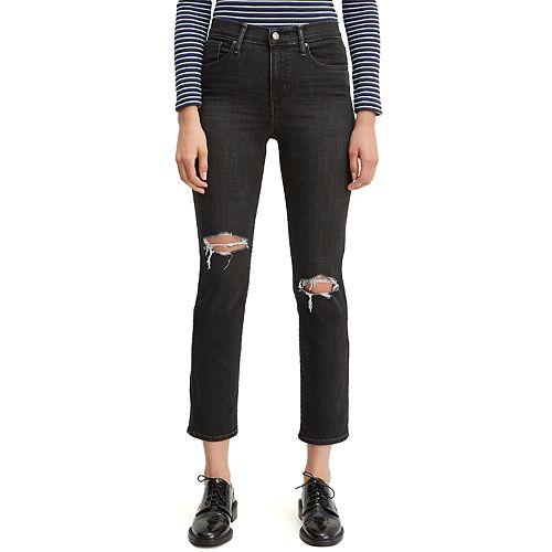 Women's Levi's® 724 High-Waisted Straight-Leg Crop Jeans