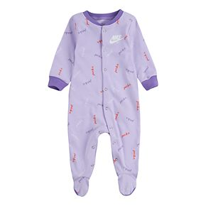 "Baby Nike ""Just Do It"" Purple Sleep & Play"