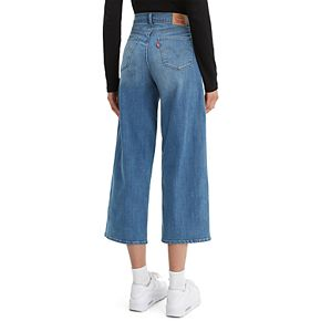 Women's Levi's® High-Waisted Crop Wide-Leg Jeans
