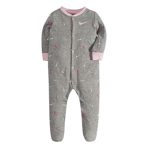 Baby Nike Swoosh Print Sleep & Play