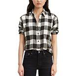 Women's Levi's® Plaid Utility Shirt