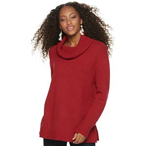 Juniors' SO Mossy Cowlneck Tunic
