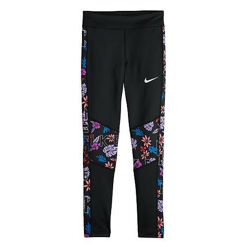Girls 7-16 Nike Printed Training Tights
