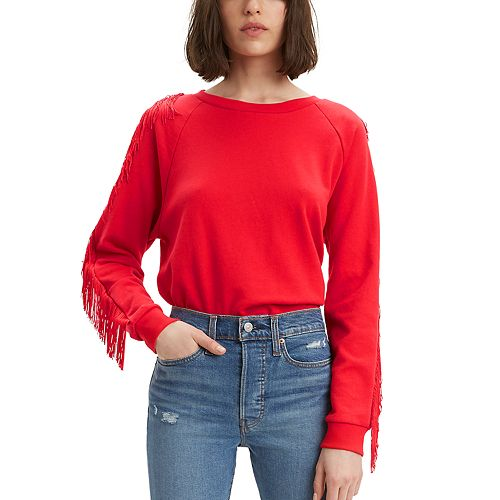 Women's Levi's® Reese Frayed Sweatshirt