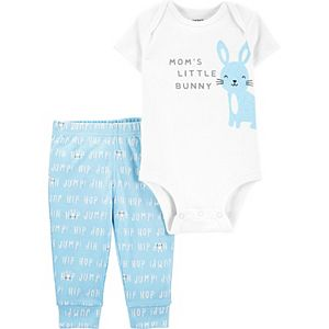 Baby Boy Carter's Easter Bunny Bodysuit & Pants Set