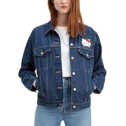 Women's Levi's® Hello Kitty® Ex-Boyfriend Trucker Jean Jacket