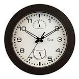 La Crosse Technology Equity by La Crosse 10-Inch Indoor/Outdoor Waylon Wall Clock