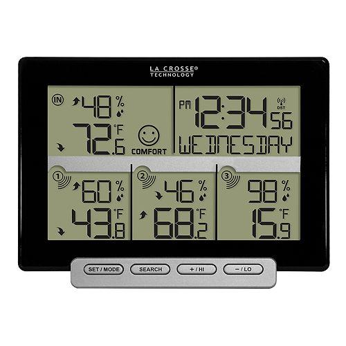La Crosse Technology Wireless Time & Temperature Station