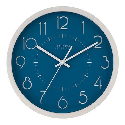 La Crosse Technology 13-Inch Weekender Quartz Analog Wall Clock