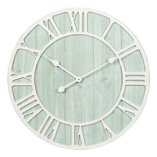 La Crosse Technology 23.5-Inch Harbor Tides Quartz Wall Clock